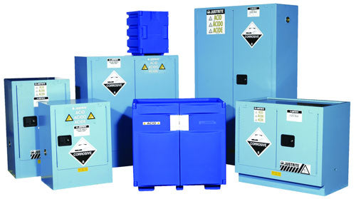 60L Dangerous Goods Storage Corrosive Chemical Safety Cabinet 10 Yr Warranty