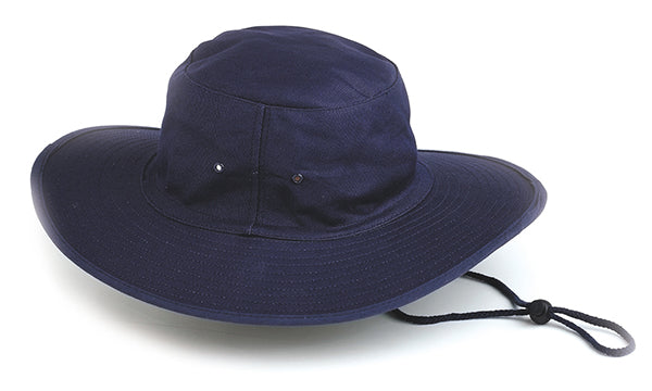 Canvas Sun Hat Blue
