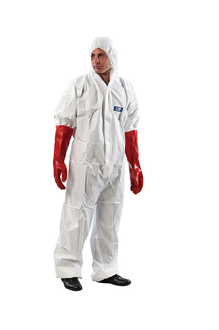 Disposable Coveralls White Provek