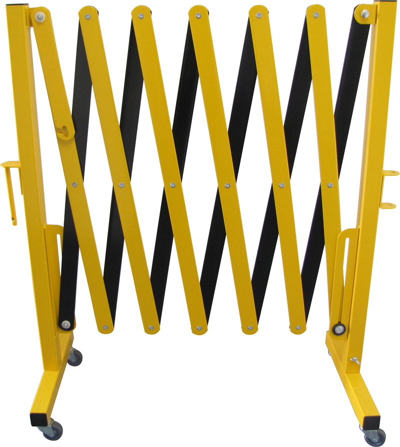 Extendable Barrier Yellow/Black