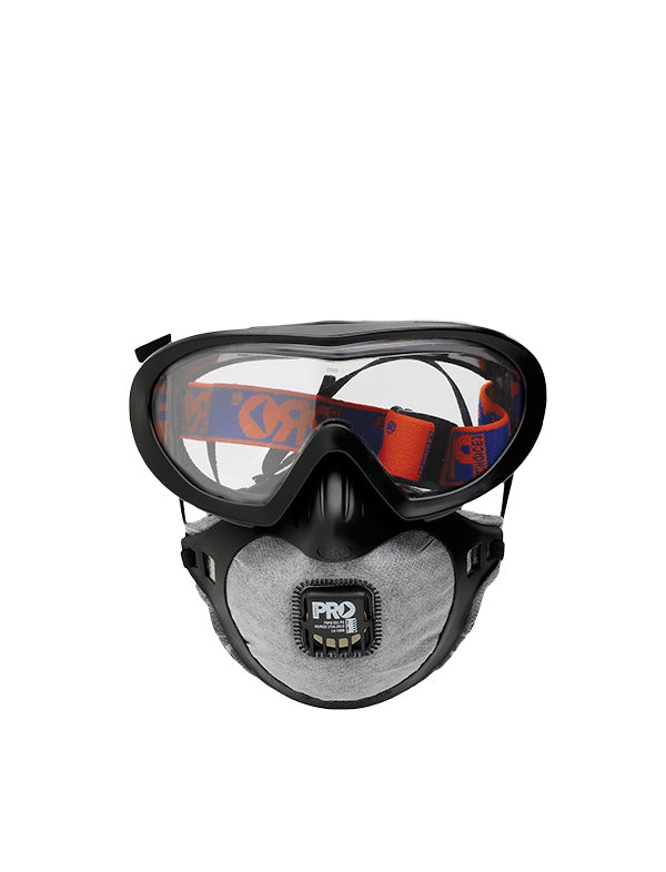 Filterspec Pro Goggle & Mask Combo (Inc. 3 Spare Masks)