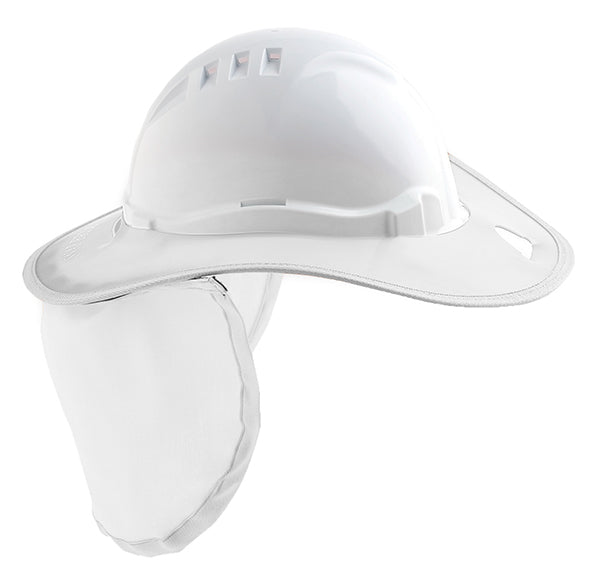 Plastic Brim and Neckflap - V6 Hard Hat