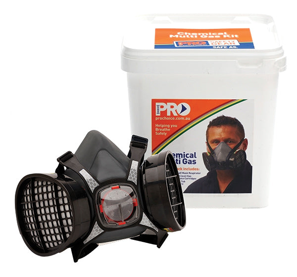 MaxiMask Half Face Mask With ABEK1 Cartridges