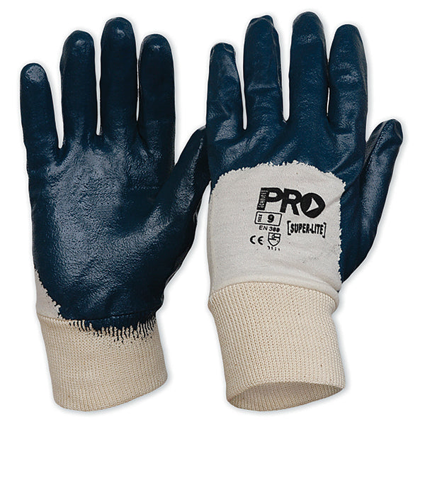 Super-Lite Blue Nitrile Glove