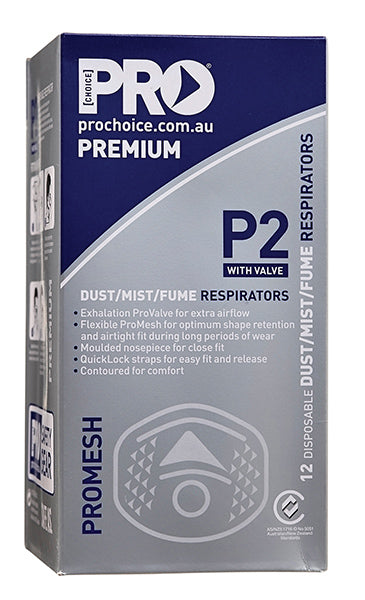 ProMesh P2 Dust Mask with valve