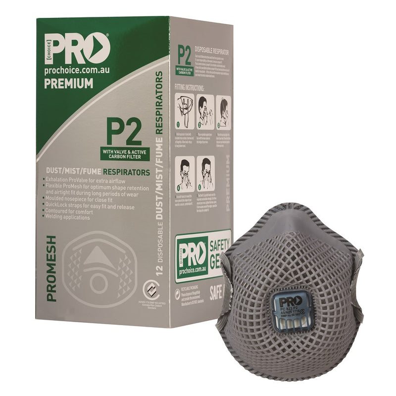 ProMesh P2 Dust Mask with Active Carbon Filter