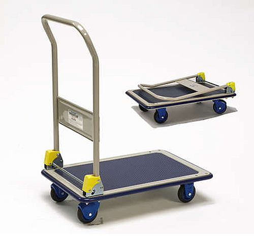 Prestar Folding Flatbed 150kg Trolley
