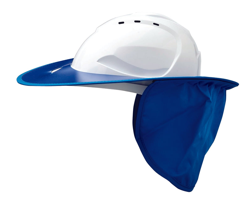 V9 Hard Hat Plastic Brim Blue
