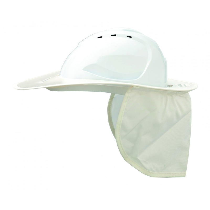 Plastic Brim and Neckflap - V9 Hard Hat