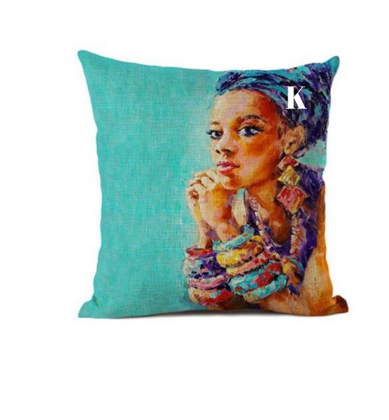 Home Decor Afrocentric Throw Pillows Kaykay Essentials Llc
