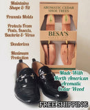 Aromatic Cedar Wood Shoe Tree UNISEX (FREE SHIPPING)