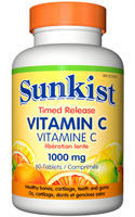 Vitamin C, Time Release, Easy Swallow, 1000 mg, 60 tablets