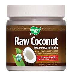 Raw Coconut, 454g (solid oil)