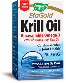EfaGold® Krill Oil, 60 softgels