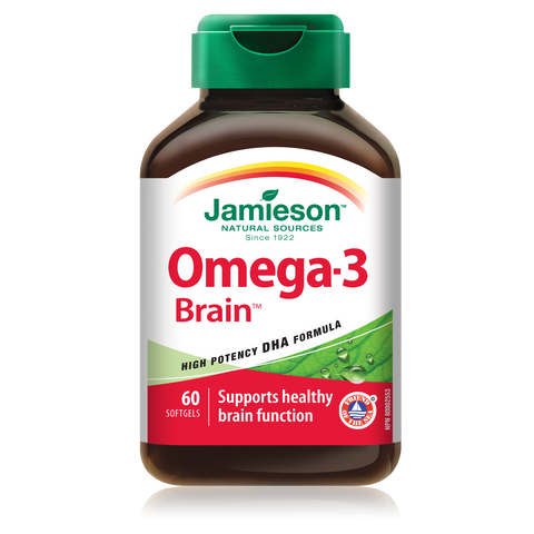 Omega-3 Brain™ 1,000 mg, 60 softgels