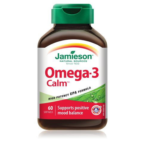 Omega-3 Calm™ 1,000 mg, 60 softgels