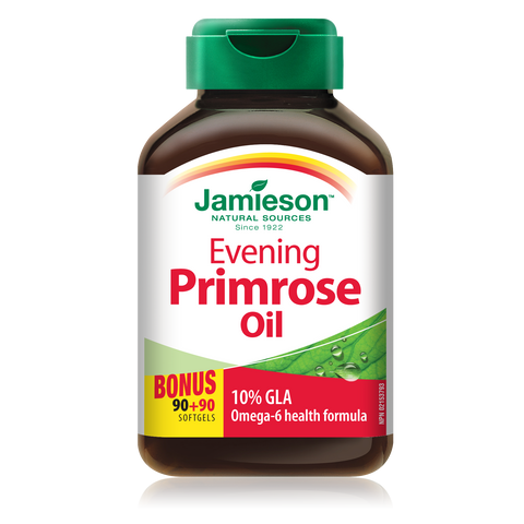 Evening Primrose Oil,  BONUS PACK!  90 + 90 caps