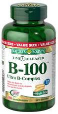 NATURE'S BOUNTY B100 COMPLEX TRIPLE VALUE 180'S