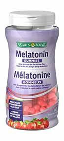 NATURE'S BOUNTY MELATONIN 2.5MG GUMMIES 60'S