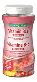 NATURE'S BOUNTY B12 GUMMIES 75'S