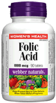 Folic Acid, 1 mg, 90 tablets