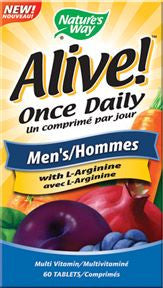 NATURES WAY ALIVE! MENS MULTI GUMM 60 tabs