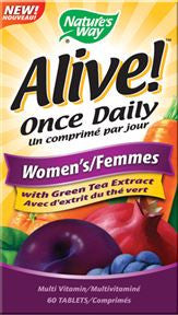 NATURES WAY ALIVE! WOMENS MULTI GUMMY 60'S