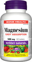 Magnesium, Easy Absorption, 500 mg, 60 tablets