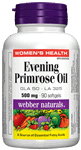 Evening Primrose Oil, 500 mg, 90 softgels
