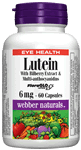 Lutein, with Bilberry Extract & Multi-Anthocyanidins, 6 mg, 60 capsules