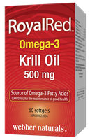 RoyalRed Omega-3 Krill Oil, 500 mg, 60 softgels