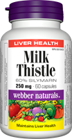 Milk Thistle Extract, 250 mg, 60 capsules