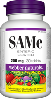 SAMe, Enteric Coated, 200 mg, 30 tablets