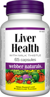 Liver Health, with Milk Thistle, 65 capsules