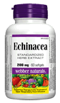 Echinacea, Standardized Herb Extract (8:1 extract), 2100 mg, 60 softgels