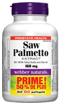 Saw Palmetto, 160 mg, BONUS! 50% MORE, 60+30 softgels