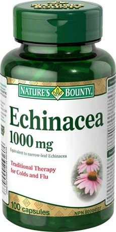 NATURE'S BOUNTY ECHINACEA 100'S