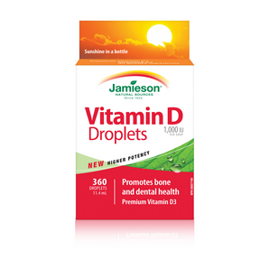 Jamieson Vitamin D Droplets, 11.4 ml