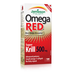 Omega RED™ Super Krill 500 mg, 100 softgels