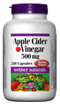 Apple Cider Vinegar, 500 mg, 240 capsules