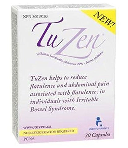 TuZen Probiotic- The Natural Solution for IBS (30 capsules) Brand: Ferring