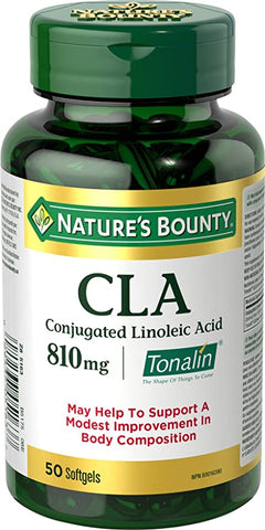 NATURE'S BOUNTY CLA SOFTGELS 50'S