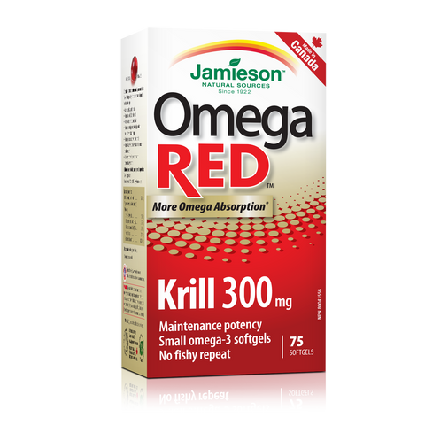 OmegaRED™ Krill 300 mg, 75 softgels