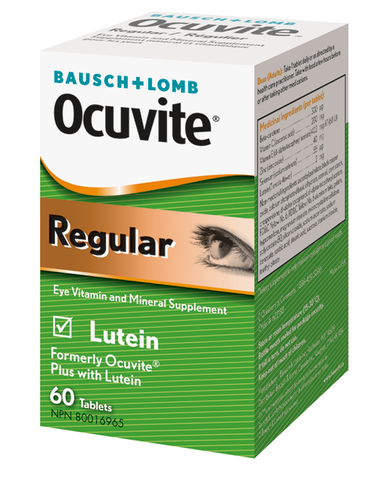 OCUVITE REGULAR 60 TABLETS