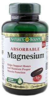 NATURE'S BOUNTY MAGNESIUM 400MG 125S