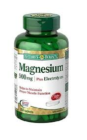 NATURE'S BOUNTY MAGNESIUM PLUS ELECTROLYTES 150'S