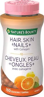 NATURE'S BOUNTY HAIR,SKIN&NAIL +COLLAGEN GUMMY 165'S