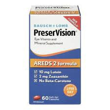PRESERVISION ARED 2, 60 SOFT GEL CAPSULES