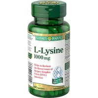 NATURE'S BOUNTY L-LYSINE 1000MG 60'S