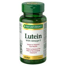 NATURE'S BOUNTY LUTEIN WITH OMEGA 45'S
